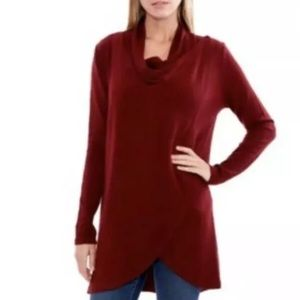 The Limited Convertible Cardigan Cabernet Size LNWT, used for sale
